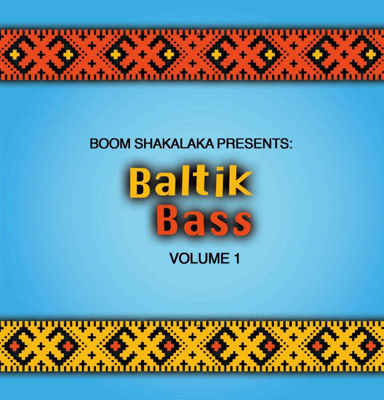 Det digitala skivkonvolutet för samlingsskivan Baltik Bass volume 1