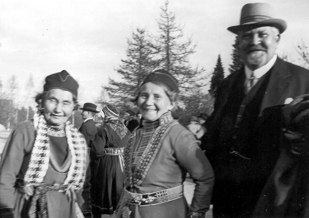 Maria Persson, Greta Persson och Karl Tirén.